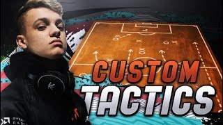 MY FUT CHAMPIONS CUP TACTICS + PLAYER INSTRUCTIONS! FIFA 20 Ultimate Team