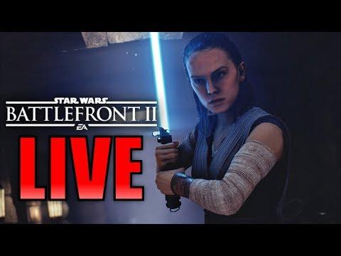 GRINDING CREDITS FOR DLC SEASON 2! Star Wars Battlefront 2 Live Stream