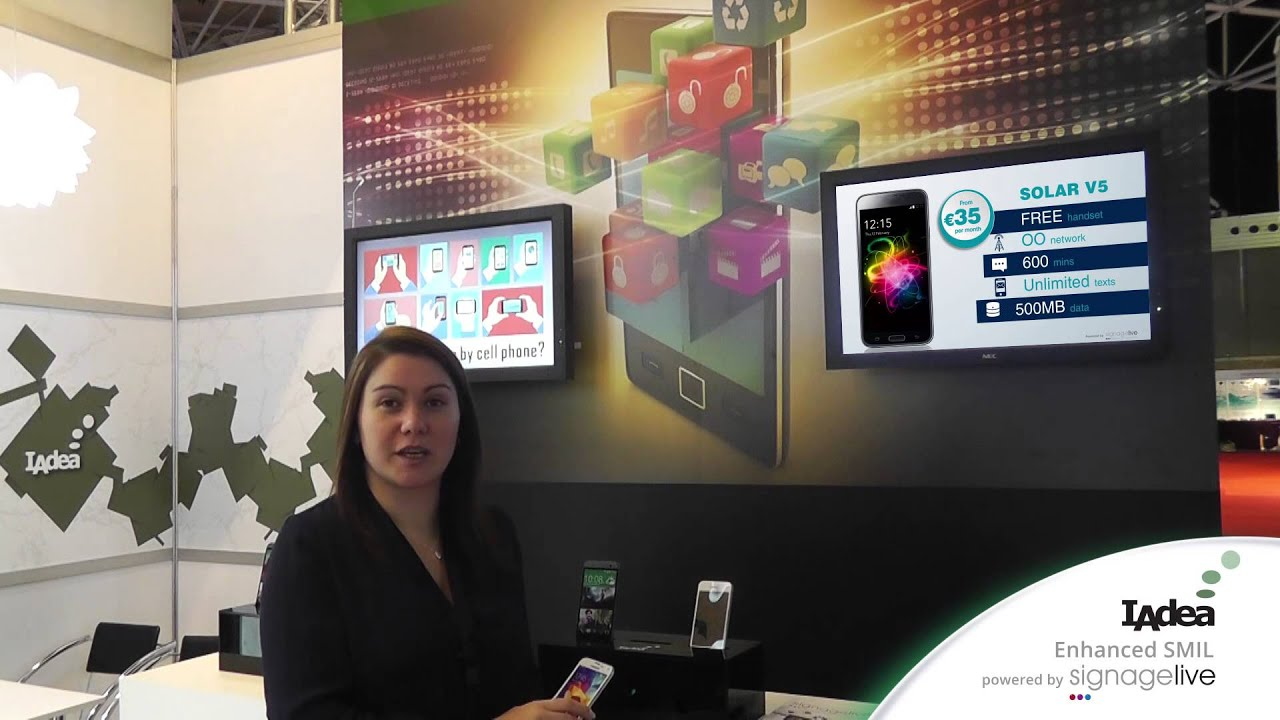 IAdea Presents Lift n' Learn Interactive Digital Signage for