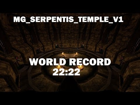 CS:S - mg_Serpentis_Temple_v1 WORLD RECORD in 22:22