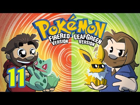 Pokemon Fire Red and Leaf Green | Let's Play Ep. 11 | Super Beard Bros.