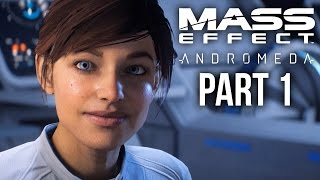 MASS EFFECT ANDROMEDA Gameplay Walkthrough Part 1 - INTRO (Female) Full Game