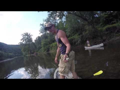 Fly Fishing The Raystown Branch Of The Juniata River