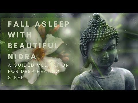 FALL ASLEEP WITH BEAUTIFUL NIDRA a guided meditation for deep healing sleep