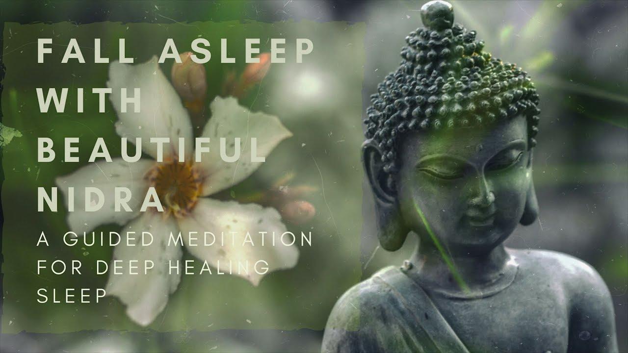 Fall Asleep With Beautiful Nidra A Guided Sleep Meditation For Deep Healing Sleep Youtube