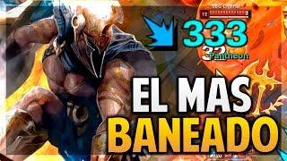¡EL CAMPEÓN MAS BANEADO DE LOS WORLDS! | League of Legends
