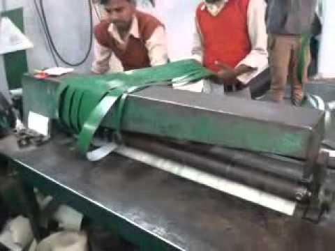 Multi Blade Conveyor Belt Cutter Youtube