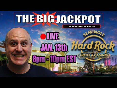 🔴 *HUGE* Live Play at Seminole Hard Rock Tampa 🎰 Slot Machines ❤️