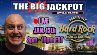 🔴 *HUGE* Live Play at Seminole Hard Rock Tampa 🎰 Slot Machines ❤️ | The Big Jackpot