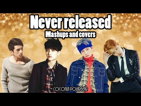 Mashups and covers I never released/finished (BTS/EXO/VIXX/NCT U)