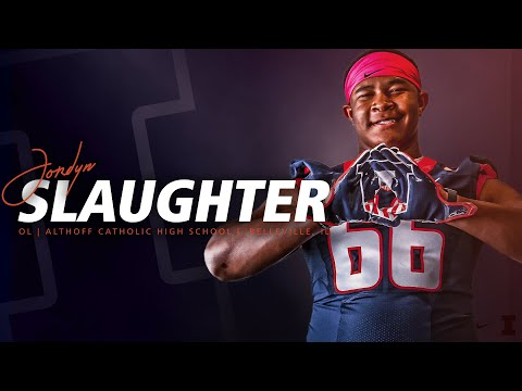 Illini Signing Day 2018 » Jordyn Slaughter