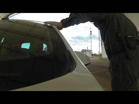 Is this Your Land? US Border Patrol Checkpoint Immigration & Realty Interrogation, 22 September 2016