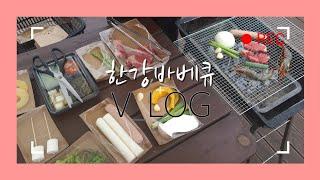[애플TV] 한강공원 바베큐 굽기 vlog / 소고기 …