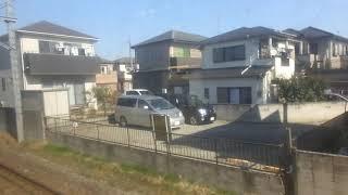 JR東日本209系MT73 側面展望 千葉→佐倉(総武本線普通) マリC607編成