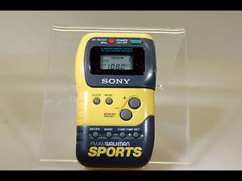 радио Sony Srf M70 Sports Walkman Digital Am Fm Stereo