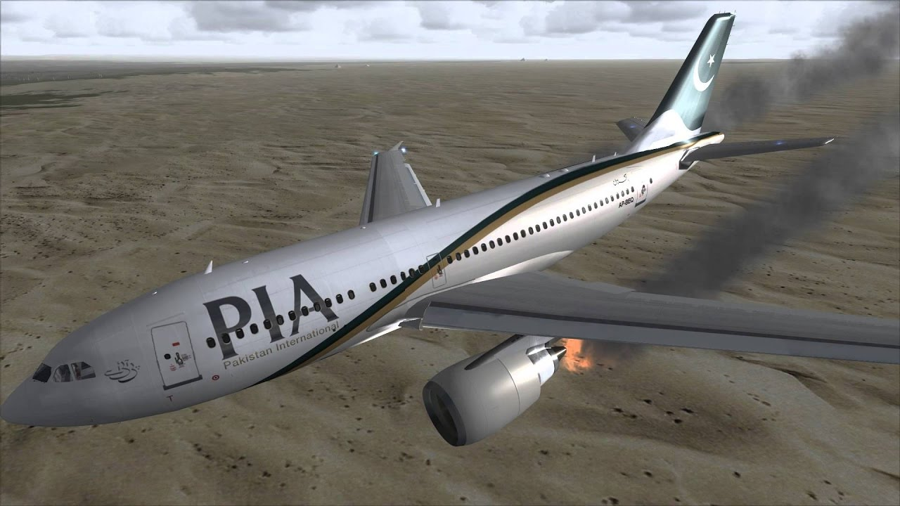 History of plane crashed of PIA and Pakistani airlines