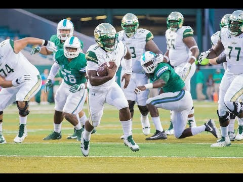 Football Highlights - USF 34, Tulane 28