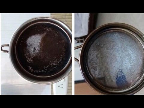 Channi Kaise saaf Karen | how to clean metal sieve