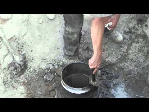 Installing Pitless Adapter Dietrich Idaho New Well 7-26-2013