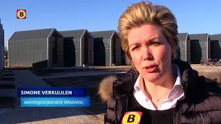 Eerste Kleine En Verplaatsbare Huizen Van Bouwbedrijf Heijmans Staan In Veldhoven