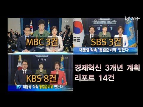 뉴스타파 - 방송3사, 1년 내내 '청와대 스피커' (2014.2.28)