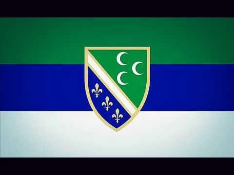 Die Hymne und Flagge aller Bosniaken ! - YouTube