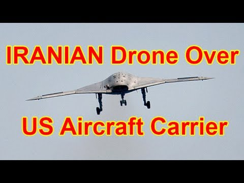Iranian Drones Circling Above US Aircraft Carrier 'Getting on Pentagon's Nerves'