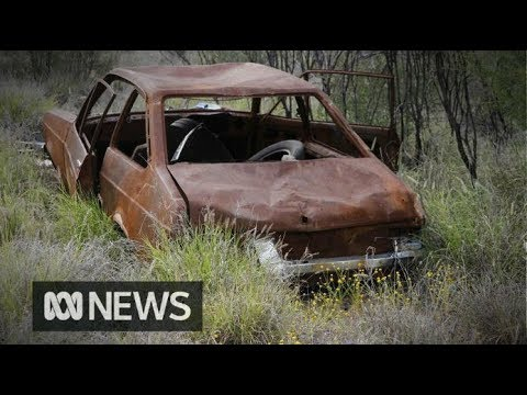 Abandoned cars of the Australian desert get a second life   ABC News