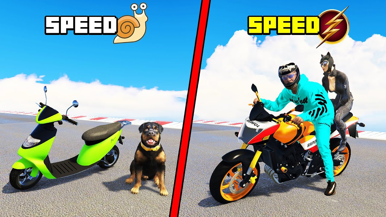 FINDING The FASTEST SUPERBIKE From MY QUADRILLIONAIRE COLLECTION with BOB & CHOP in GTA 5 (GTA V #7)