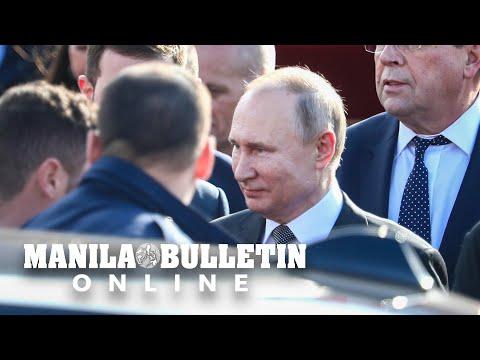 Russian President Vladimir Putin arrives in Israel