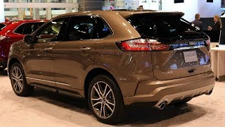 NEW 2019 FORD EDGE TITANIUM ELITE - EXTERIOR AND INTERIOR - AWESOME FORD SUV
