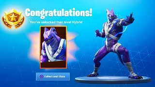 The NEW BLUE Hybrid Skin Variant in SEASON 8 - Fortnite Battle Royale (Max Battle Pass Skin)