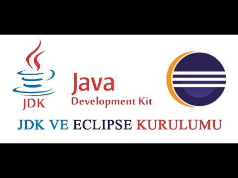 JDK ve Eclipse IDE Kurulumu