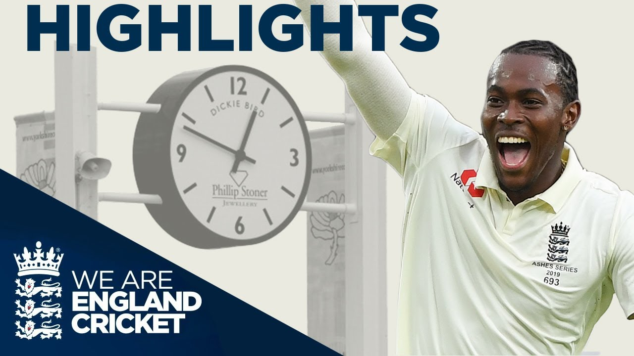 Archer Takes Brilliant 6-45! | The Ashes Day 1 Highlights | Third Specsavers Ashes Test 2019