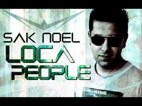 Sak Noel - Loca people (instrumental)