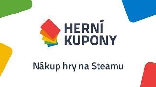 Nákup hry na Steamu - Návod