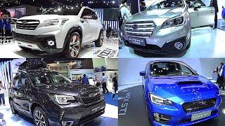 Subaru 2016, 2017 model: Subaru Forester, WRX, XV, Legacy, Outback, Levorg, Tribeca