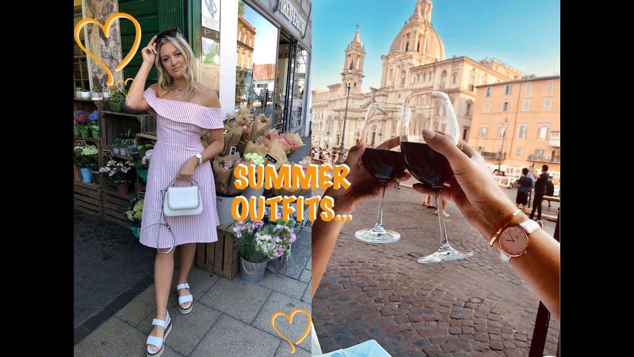 [VIDEO] - SUMMER LOOKBOOK...WHAT I WEAR 1