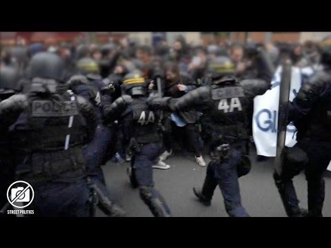 #FrontSocial : Troisième Tour Social à Paris après l'élection de Macron - 08/05/17