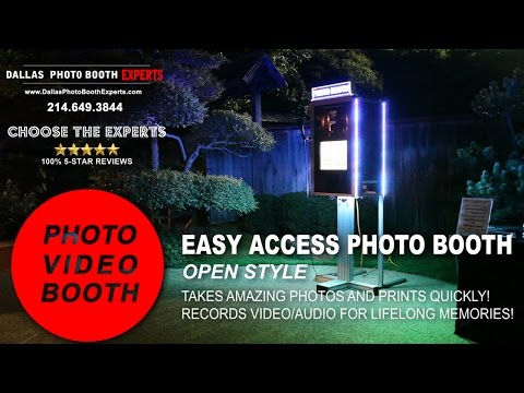 PTBooth And Easy Access Photo Booth in Action