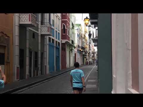 Old San Juan Puerto Rico - Post Hurricane Maria - 90 days after