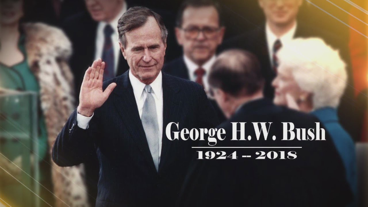 Image result for WWE pays tribute to President George H.W. Bush