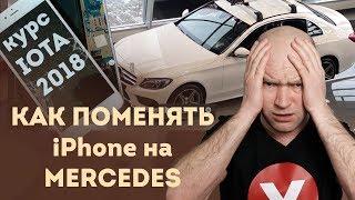 Криптовалюта IOTA в 2018 году   Как поменять iPhone на новый Mercedes?   Криптопортфель