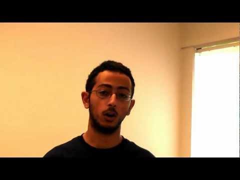 Biochemistry Undergradute Student Mark Azmy