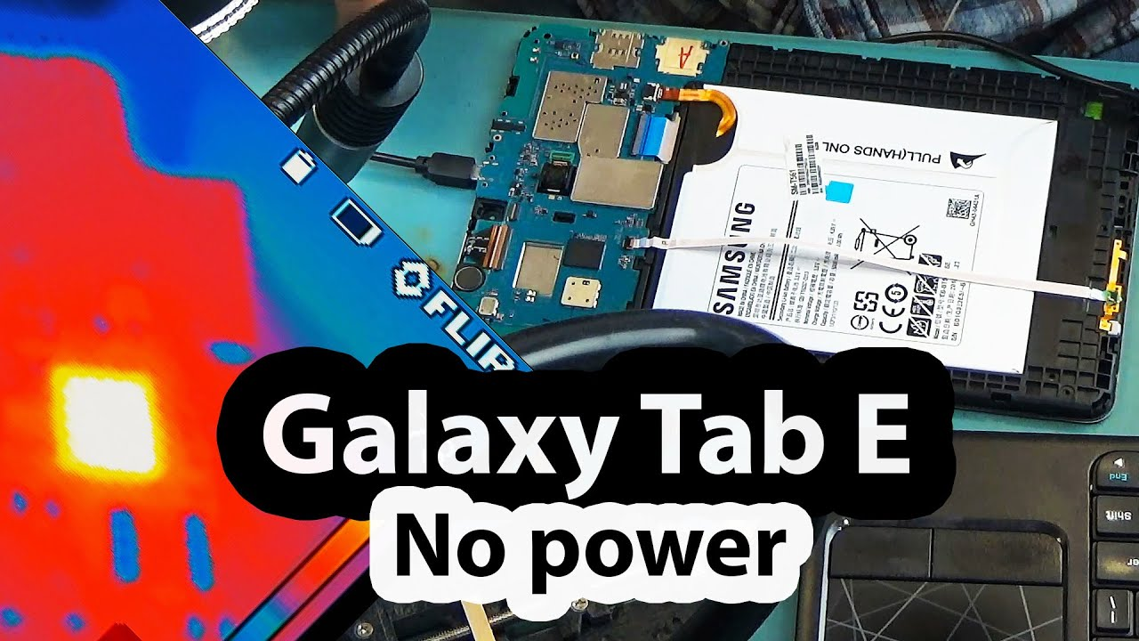 Galaxy Tab E SM-T561 Charging port replacement and Charging IC problems