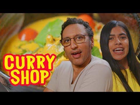 Aasif Mandvi Taste Tests High-End Indian Dishes | Curry Shop