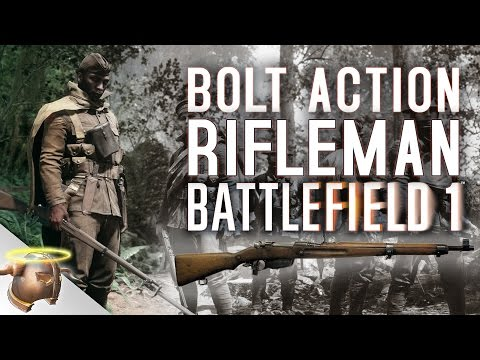 Battlefield 1: Bolt action Scout class rifles with irons are awesome!