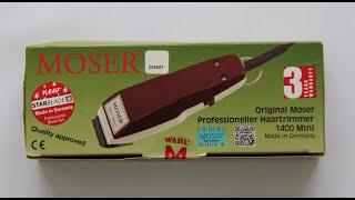 ماكينة حلاقة قص الشعر الكهربائية موزر Moser 1400