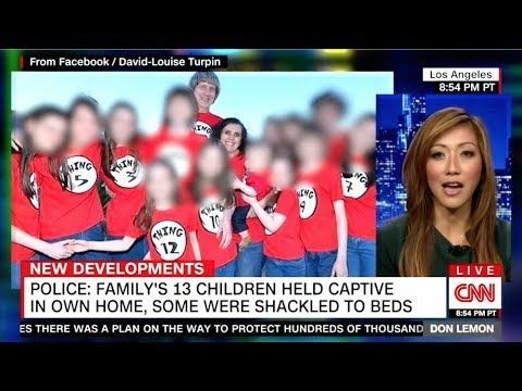 Family's 13 Children Held Captive In Own Home