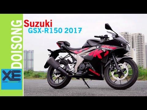 Đánh giá sportbike Suzuki GSX-R150 2017 giá 74,9 triệu đồng | Xedoisong.vn